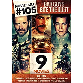 Image result for Movie Rule #105: 9 Bad Guys Bite The Dust Movies