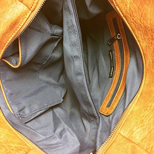 L'alta qualità Shopper XL, pratico ed elegante in marrone
