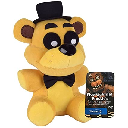 Official Funko Five Nights At Freddys 6quot Limited Edition Golden Freddy Bear Walmart