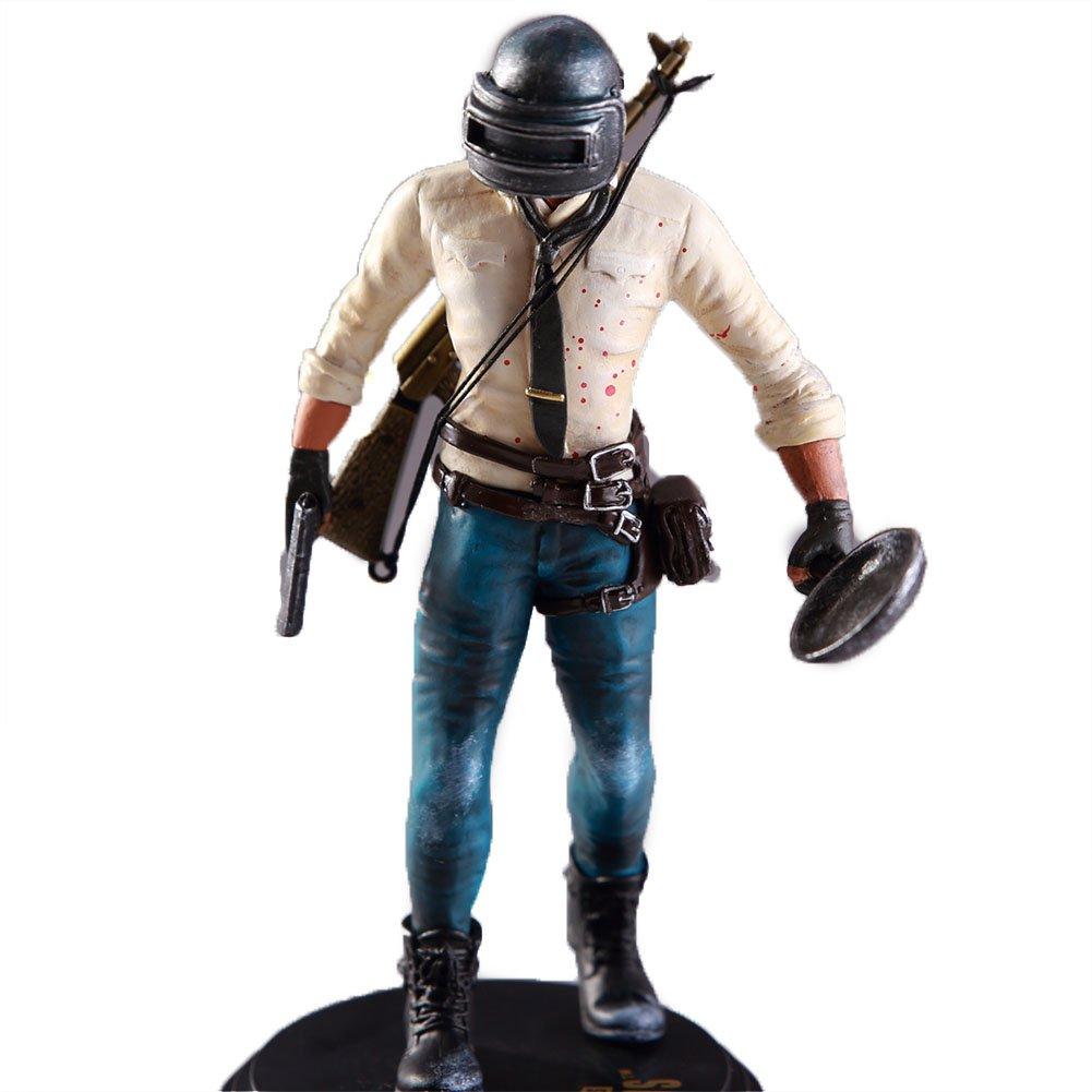Zantec Jeu de Battlegrounds de Playerunknown PUBG Modèle Poupée PVC 17cm Figurine de jeu Figurine