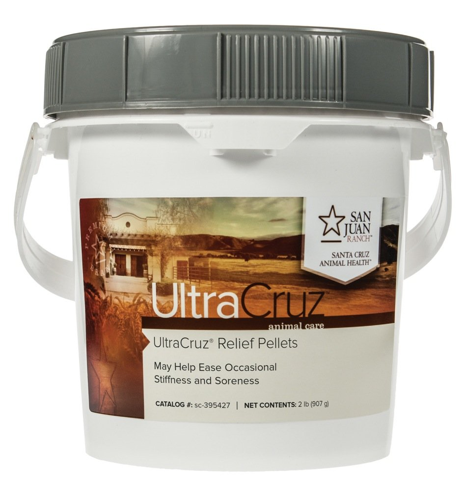 UltraCruz Equine Relief Supplement for Horses, 2 lb. Pellets (32 Day Supply)