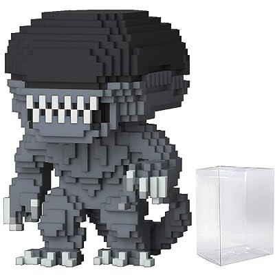 Funko 8-Bit Pop! Horror: Alien - Xenomorph Vinyl Figure (Includes Compatible Pop Box Protector Case): Toys & Games