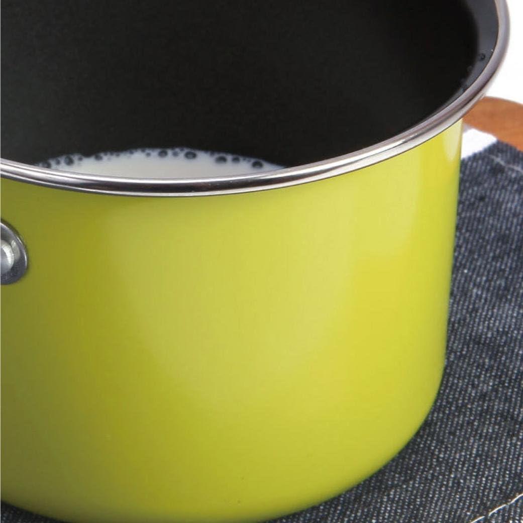 Non-Stick Milk Pot Mini Sauce Pan Stockpot Coffee Warmer and Butter Sugar Melting Pot Hometom Milk Pan