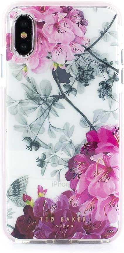 Ted Baker 886075064839 Fashion Scratch Resistant Anti Shock Case for iPhone X/XS