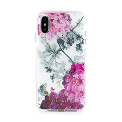 2263245cf Amazon.com  Ted Baker Fashion Anti Shock Case for iPhone X XS ...