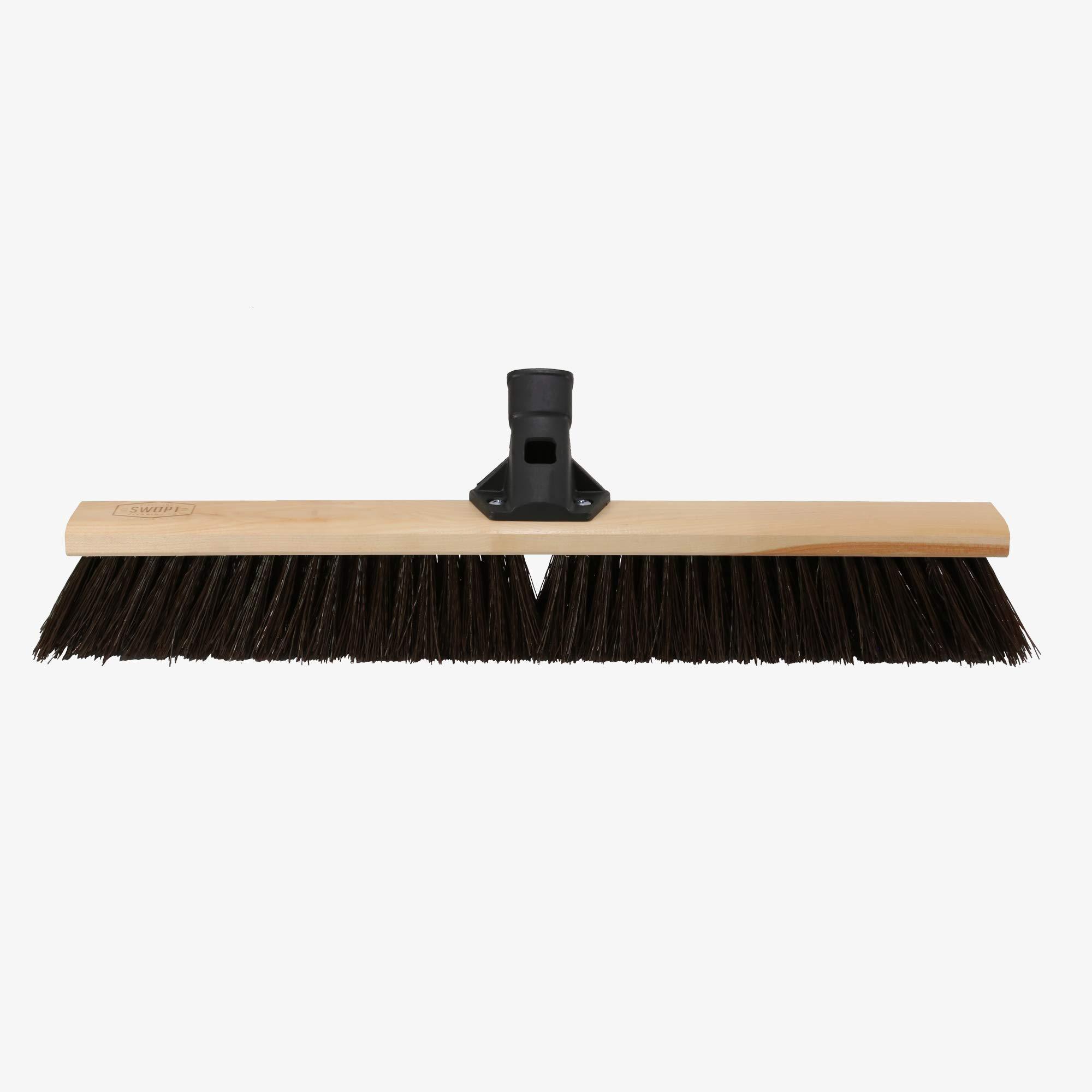 Swopt 5117C4 24'' Premium Rough Surface Push Broom Head