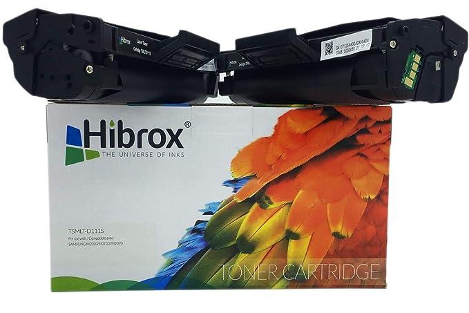 Pack 2Pcs Hibrox Toner Compatible Samsung MLTD111S M2020 pour ...