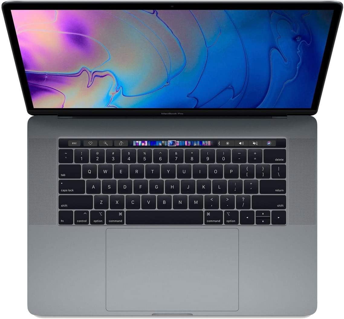 """Apple 15.4"""" MacBook Pro with Touch Bar, 2.9GHz 6-Core Intel Core i9, 16GB RAM, 512GB SSD, Radeon Pro 560X, Space Gray (Mid 2018)"""