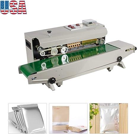 FR-900 Automatic Continuous Sealing Machine Plastic Film Heat Sealer Adjustable