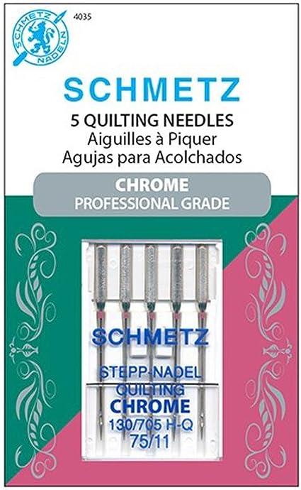 5 SCHMETZ Quilt Nadeln 130//705 H-Q Stärke 75