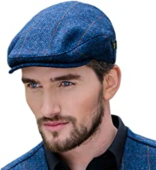 869f6b3e4619f Mucros Weavers Men s Donegal Tweed Flat Cap - Traditional Style