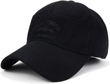 Homme nouveau tweed hats style classique avec intérieur doublé hiver chaud chapeaux taille plus