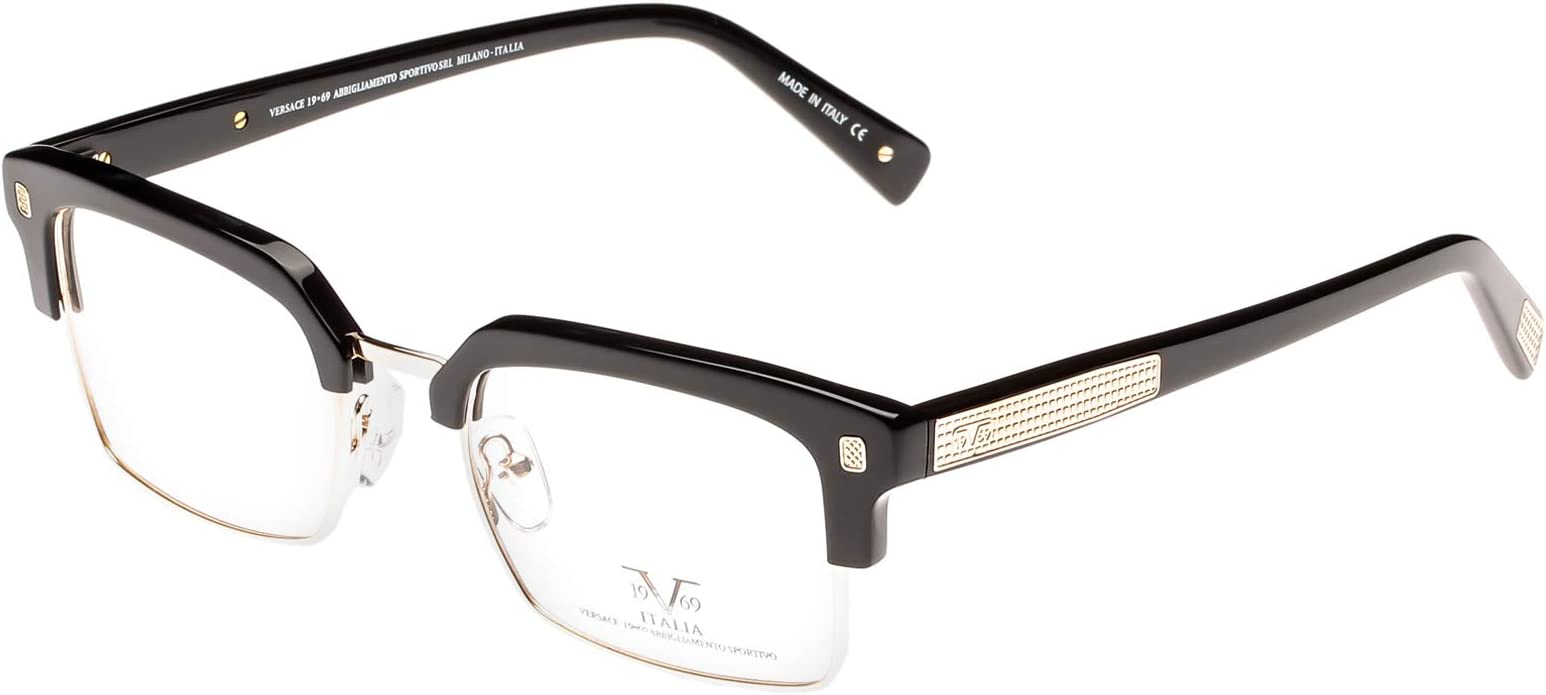 Versace 19.69 Half Frame Men's Eyewear Frames - Vm1508 C1-51-20-145 Mm  price in UAE | Amazon UAE | kanbkam