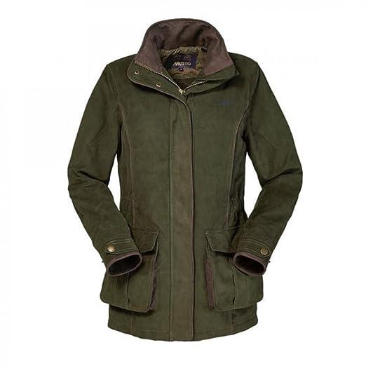 9ef6c632e Amazon.com: Musto Whisper Ladies Jacket Dark Moss 14: Clothing
