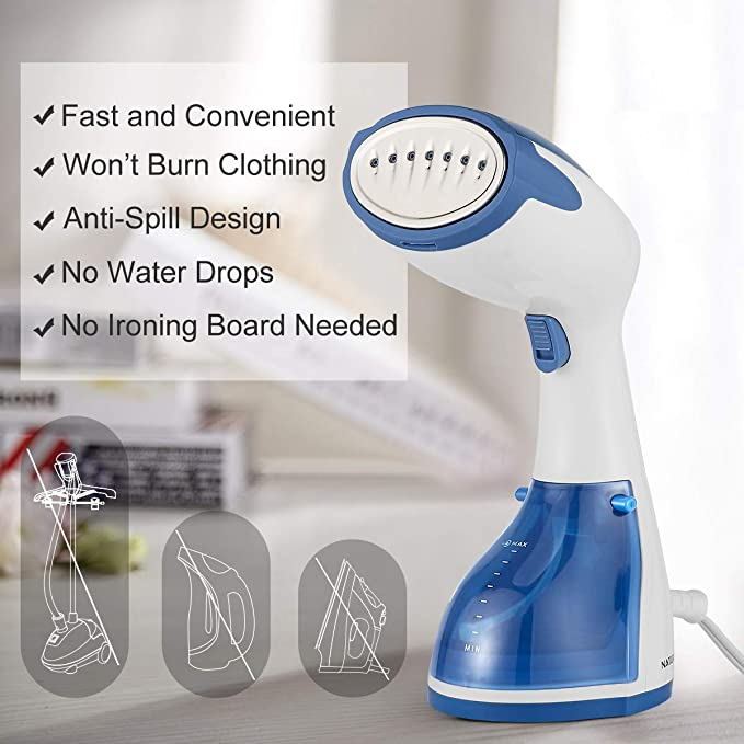 BEAUTURAL 1200W Clothes Steamer Handheld image 6