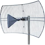 Long Range Cellular Antenna - up to 10 Miles Range | High gain Outdoor Cell Phone Booster Antenna +26db | Covers All Cellular