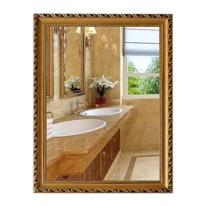 LEI ZE Jun UK Mirror- Style Européen Encadré Salle De Bains ...