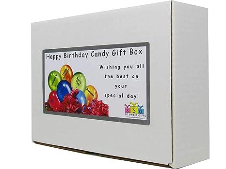 beanboozled Feliz cumpleaños caja de regalo: Amazon.com ...