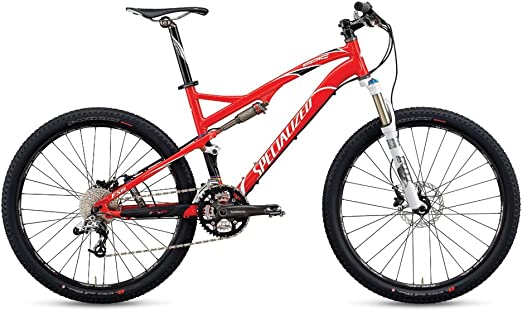 Specialized MTB Epic FSR Comp - Bicicleta de montaña para Hombre, M, Color (Rot/Schwarz/Weiãÿ): Amazon.es: Deportes ...