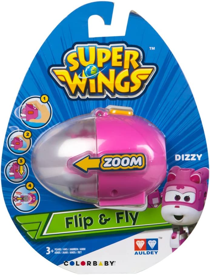 Super Wings Egg Launcher Dizzy