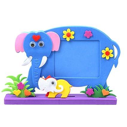 Amazon Com Diy Toys Frame Foam Craft Kids Child Creative Activity