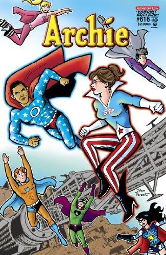 (Archie Comics #616 President Barack Obama vs. Sarah Palin Superhero Variant)