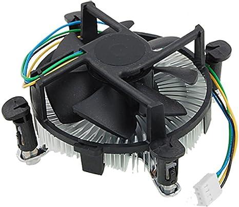 Computadora PC disipador CPU refrigerador del ventilador para ...