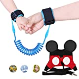 Amazon Price History for:MPAYIXUNGS (2 kit) Anti Lost Wrist Link 2 meters Wrist Leash for Kids & Toddlers Child Safety Wristband (Blue+Red) QE00-3