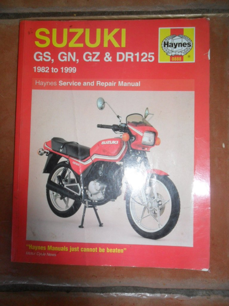suzuki gs gn gz and dr125 service and repair manual amazon co uk rh amazon co uk Suzuki DR-Z125L Suzuki PE175