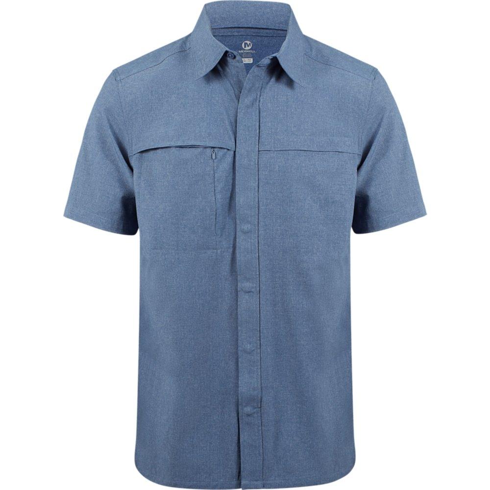 Merrell Adventure/Travel Short Sleeve Stretch Woven Shirt