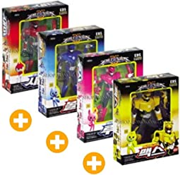MINI FORCE Bolt Max Semi Lucy 4Pcs Robot Action Figures Sonokong Miniforce + Candy Gift