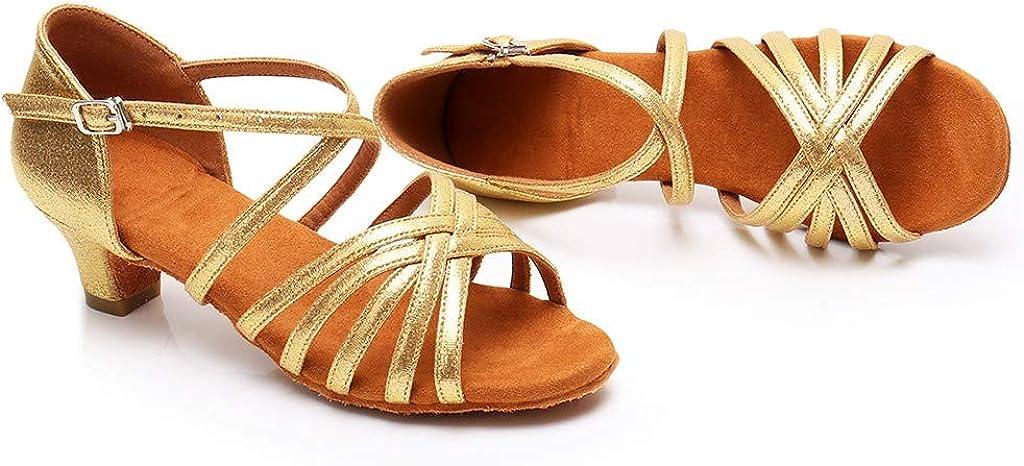 Randolly Toddler Shoes Baby Kids Girls Princess Dancing Ballroom Tango Latin Shoes Sandals