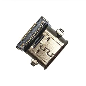 GinTai Type-C USB Charging Port DC Power Jack Connector Replacement for Dell XPS 13 9300