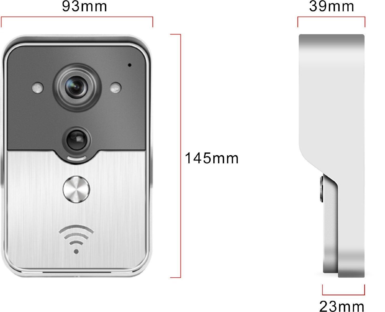 Amazon Aleko Hl3501 Wifi Wireless Visual Intercom Smart
