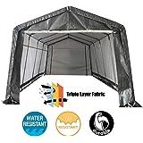 Amazon.com: Bestmart INC 10x15ft Heavy Duty Beige Carport ...