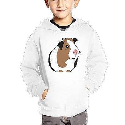 Qij Cloth Cute Guinea Pig Funny Cartoon Girls Sweatshirts Cotton Hooded Hoodie