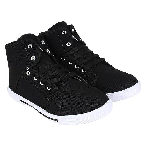 Shoefly Men Black-303 Casual Shoes