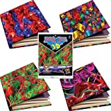 Set of 4 Jumbo 3d Book Sox - 4 Different Book Covers