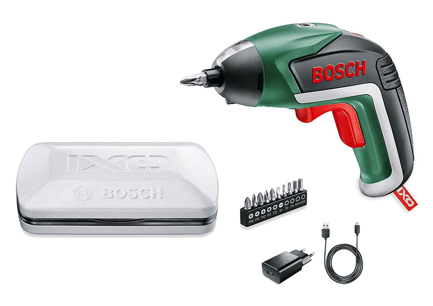 BOSCH IXO 3.6V Mini Cordless Electric Screwdriver Drill with Charger NEW