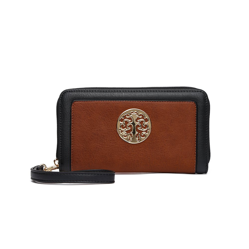 LeahWard Women/'s Faux Leather Purse Wallet Card Holder Hey Holder For Women