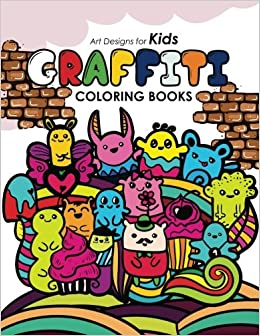 graffiti coloring book for kids tamika v alvarez graffiti coloring book for kids 9781542335942 amazoncom books - Graffiti Coloring Book