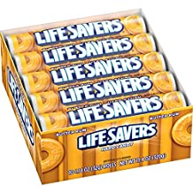 LifeSavers Butter Rum Hard Candy, 1.14-Ounce Rolls (Pack of 60)