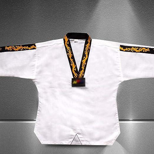 GHKWXUE Ropa de Karate/Deportes de Artes Marciales Taekwondo GI ...