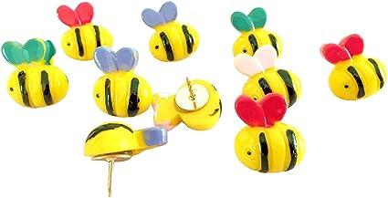 10 pcs Cute Bee marcadores, dibujo Pin decorativo multicolor ...