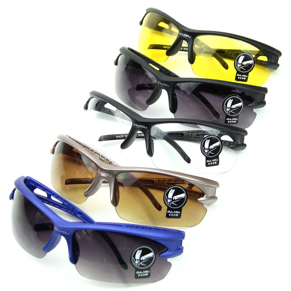 d3098ec73d0d Amazon.com   GaoCold HD UV400 Fishing Driving Cycling Running Dustproof  Anti-Explosion Sunglasses Eyewear Glasses Outdoor Sports   Sports   Outdoors