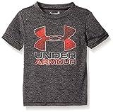 Under Armour Baby' Logo Short Sleeve Tee Shirt, Black UA, 24M