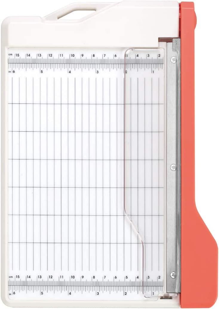 Bira Craft Guillotine Paper Trimmer, Guillotine Paper Cutter, 8.5 inch Cut Length, for Coupons Paper Crafts and Photos