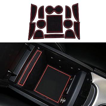 Amazon.es: Accesorios de ajuste personalizado para portavasos y forro de puerta para I nfiniti Q50 Q50 L (13 piezas)
