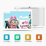 Yuntab K17 10.1 Inch Quad Core CPU MT6580 Cortex A7 Android 5.1,Unlocked Smartphone Phablet Tablet PC,1G+16G,HD 800x1280,Dual Camera,IPS,WiFi,Bluetooth,G-sensor,GPS,Support 3G Dual SIM Card (Silver)