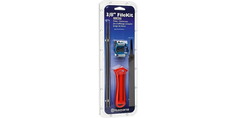Husqvarna 531300081 3/8-Inch Saw Chain Filing Kit